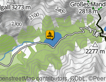 Map: Antholzer See / Lago di Anterselva