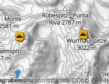 Map: Fundres Mountains