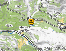 Map: Issinger Weiher / Laghetto d'Issengo