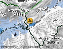 Map: Obersee / Lago Obersee