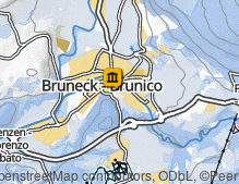 Map: Variatio Bruneck / Variatio Brunico