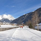 langlauf loipe Antholz Niedertal Winter pista fondo anterselva