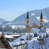bruneck zentrum winter brunico centro inverno