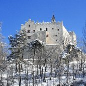 schloss bruneck winter castel brunico inverno