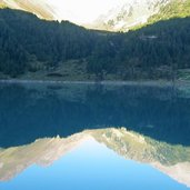 Neveser stausee lago di neves