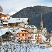 Pustertal Onach winter onies inverno dorf paese