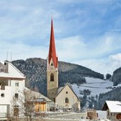 Pustertal Onach winter onies inverno chiesa kirche
