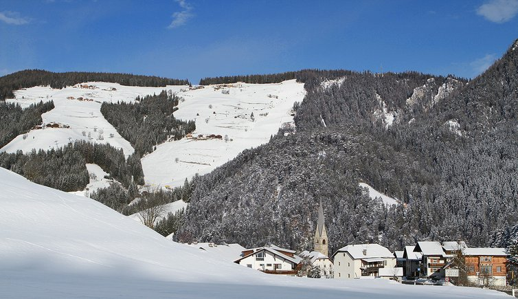St Martin in Thurn dorf winter san martino badia inverno