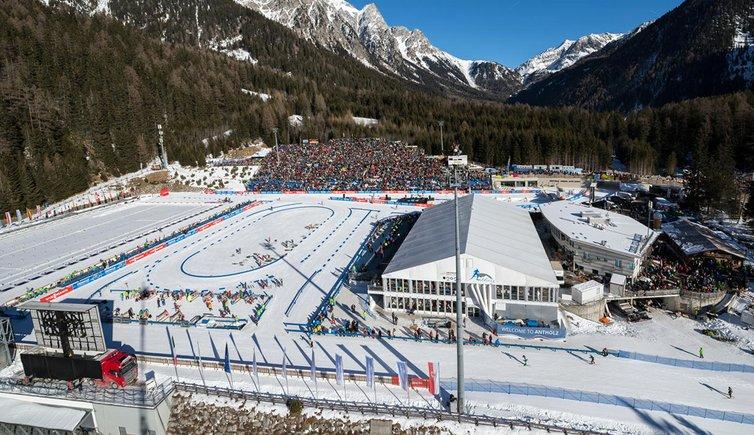 Biathlon Antholz Dorf Und Zentrum Pustertal Südtirol Und Osttirol