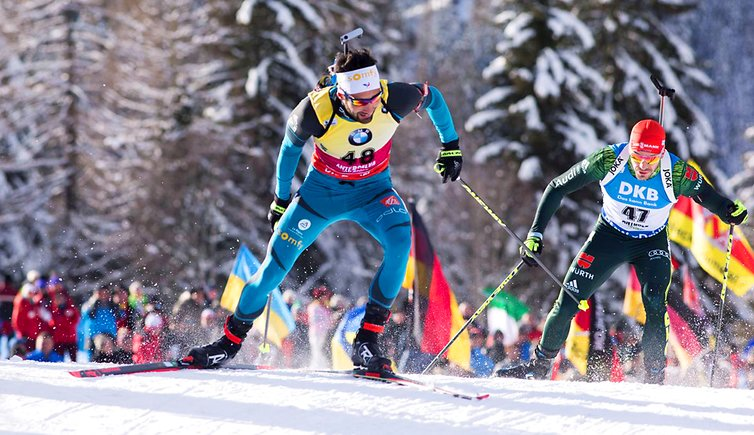Martin Fourcade FRA IBU world cup biathlon Antholz